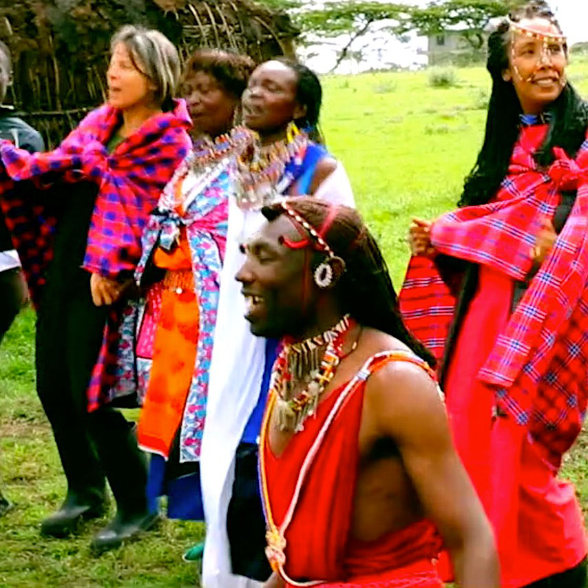LEARN TO DANCE THE MASAI WAY