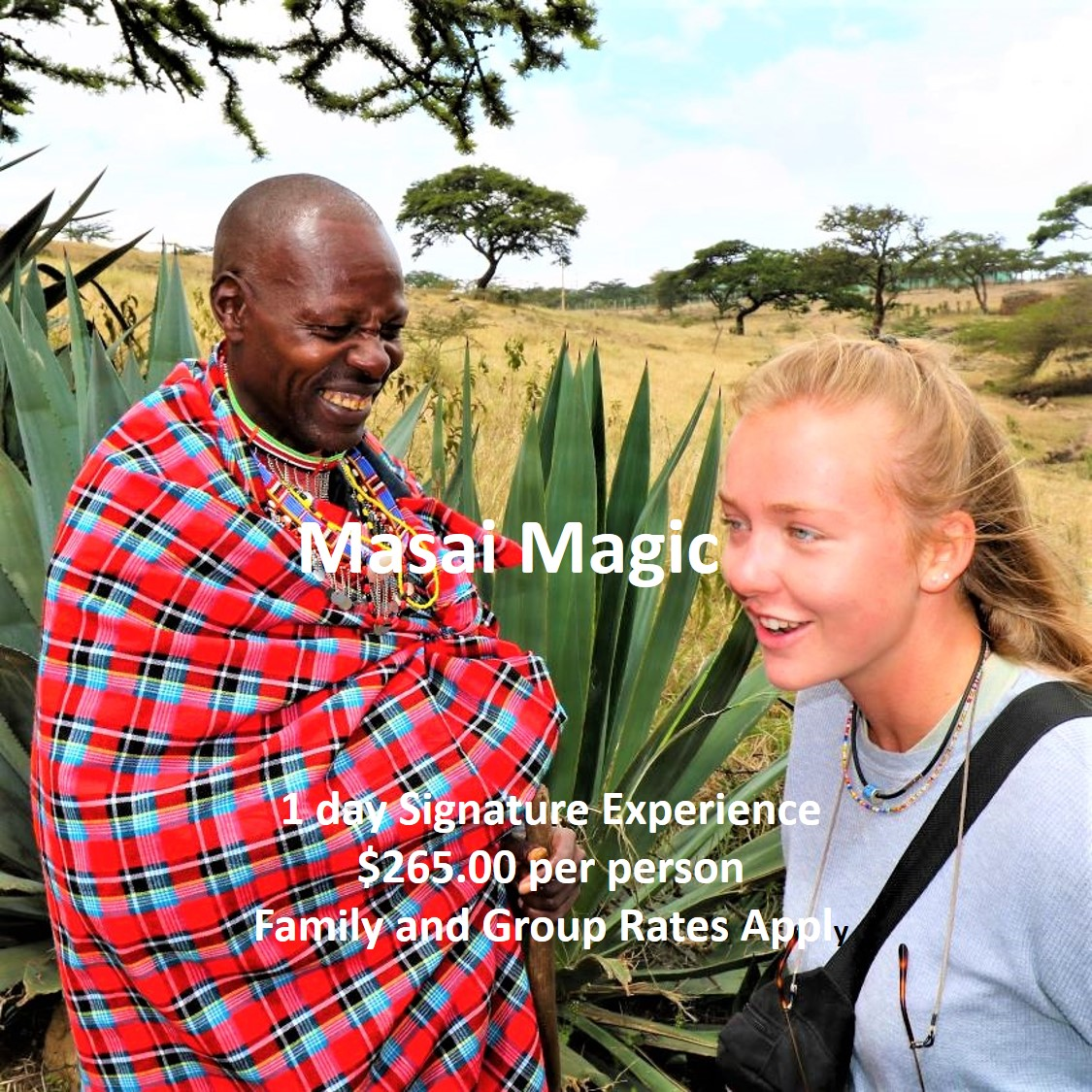 1 DAY – MASAI MAGIC EXPERIENCE
