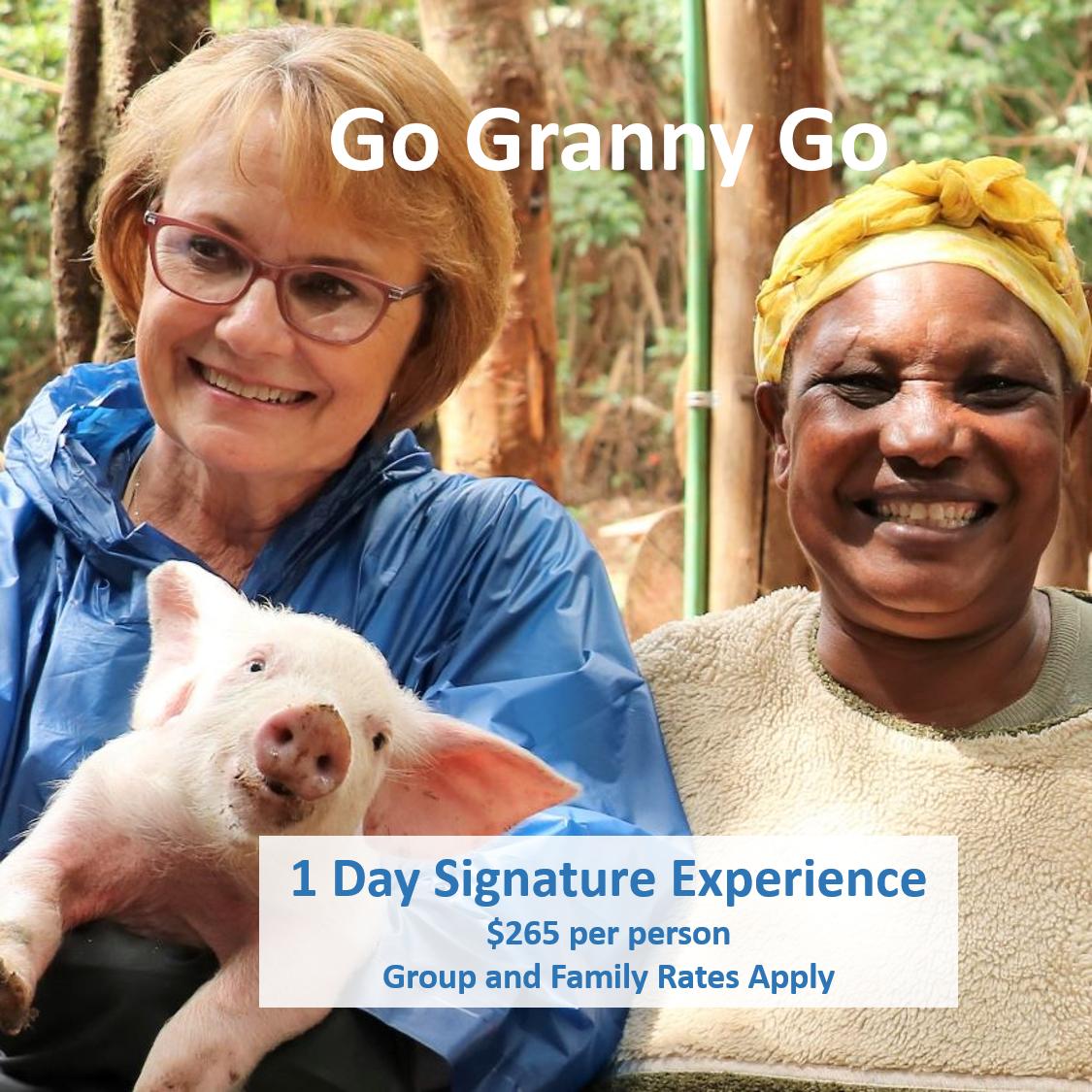 GO GRANNY GO – 1 DAY SIGNATURE EXPERIENCE