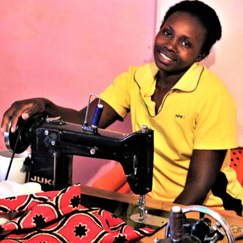 A Sewing Machine - a gift that will help single Kenyan mothers keep their families together