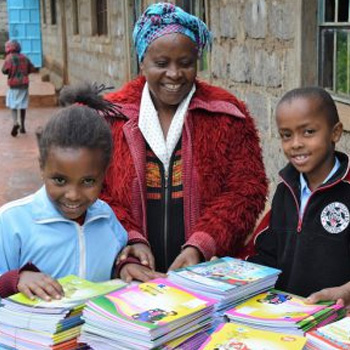 School Library Books - a gift that supports One Horizon's education program for Kenyan children