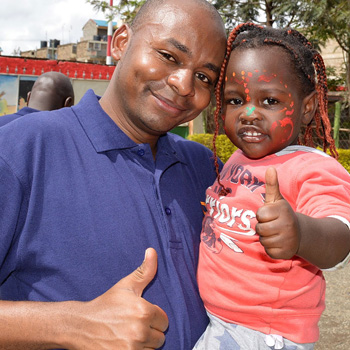 A Home For A Family - a gift that takes a Kenyan family away from a rough life on the streets