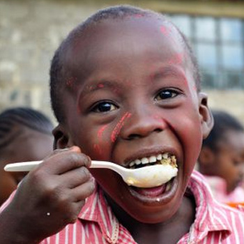 A Nutrition Program - a gift that changes the lives of hungry Kenyan children