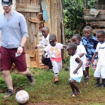 A School Sports Kit - a gift that supports One Horizons health and fitness programs for Kenyan children