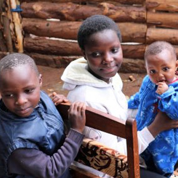 Chicken Coup - a gift that helps a Kenyan grandma care for her orphaned grandchildren