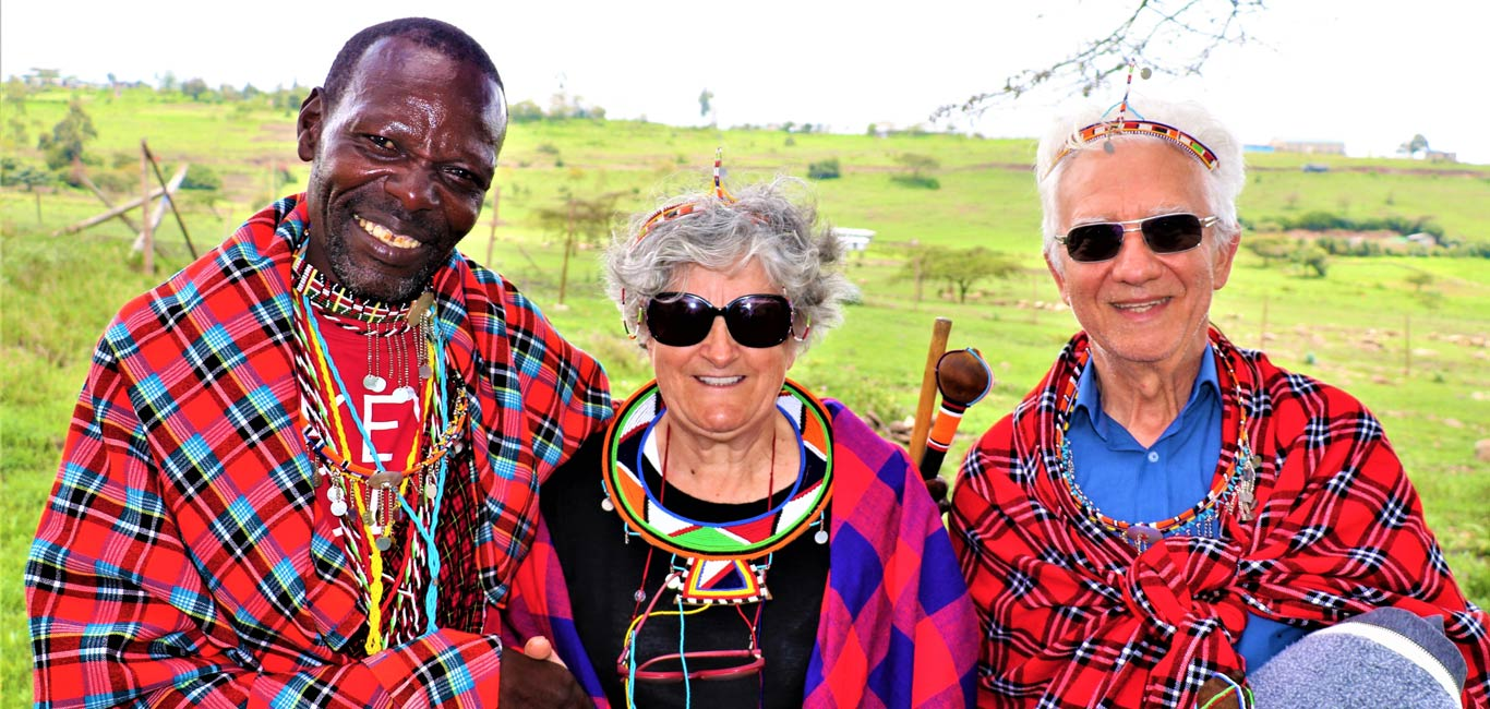 Celebrate Your Milestone With the Maasai