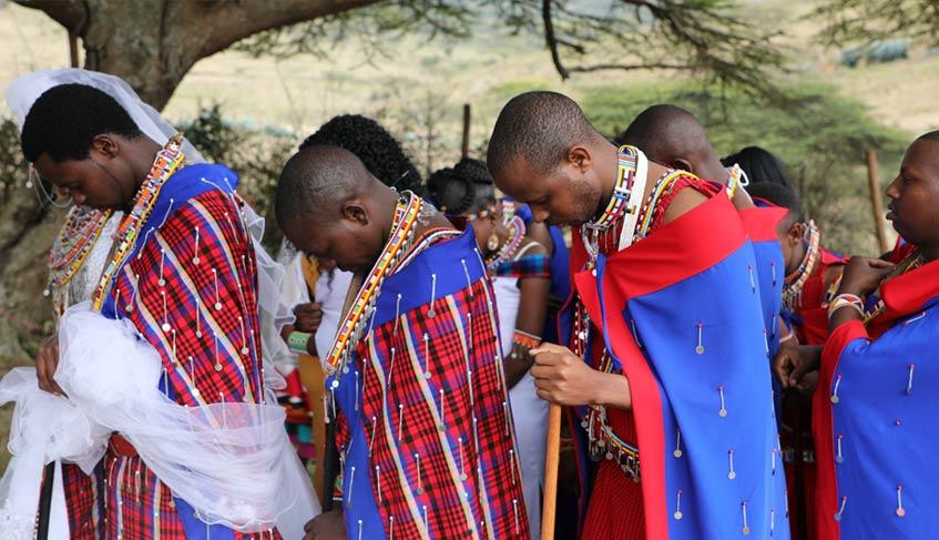 A moment of prayer